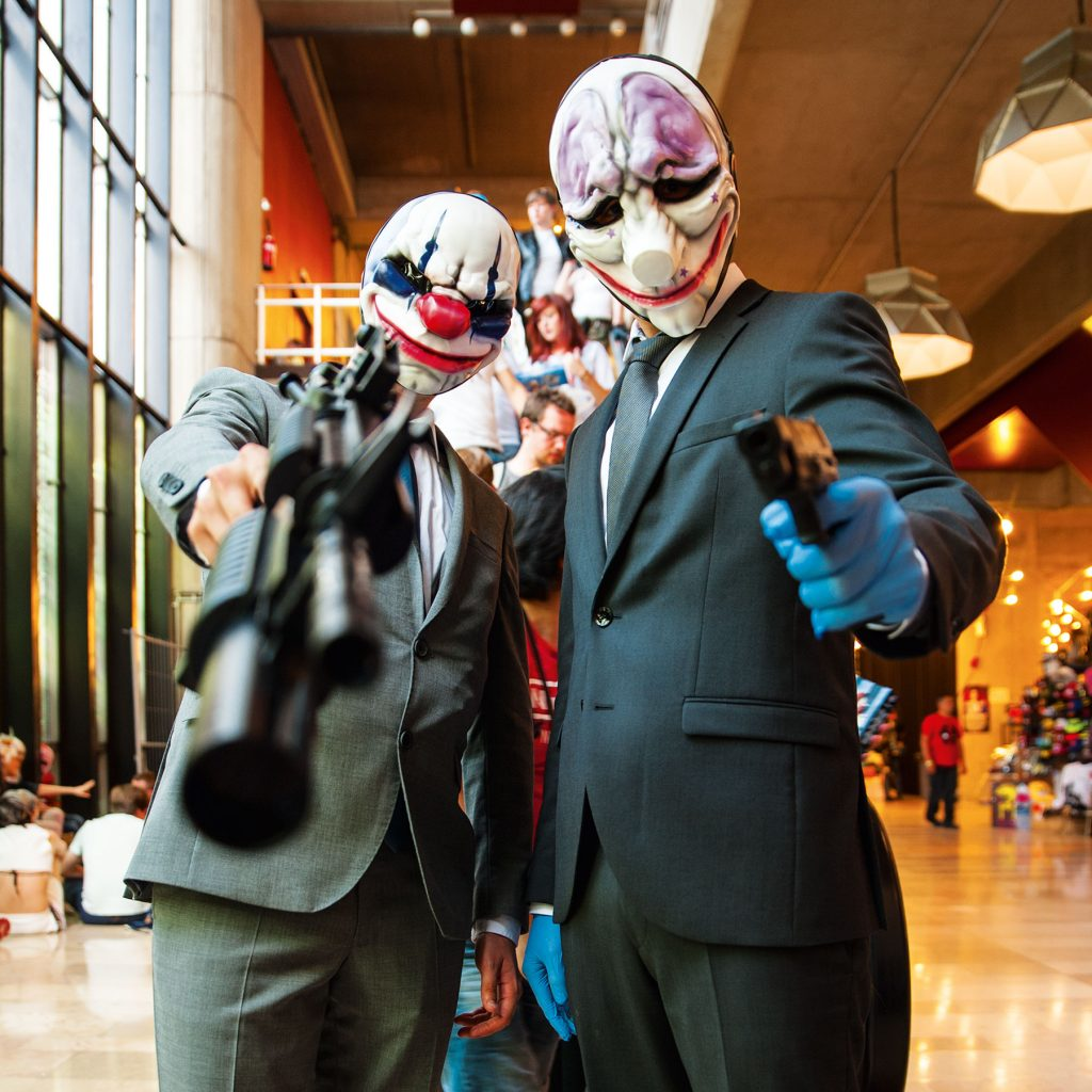 Comic con - Payday 2
