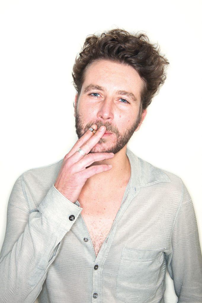 Portrait of a smoking guy - Evert